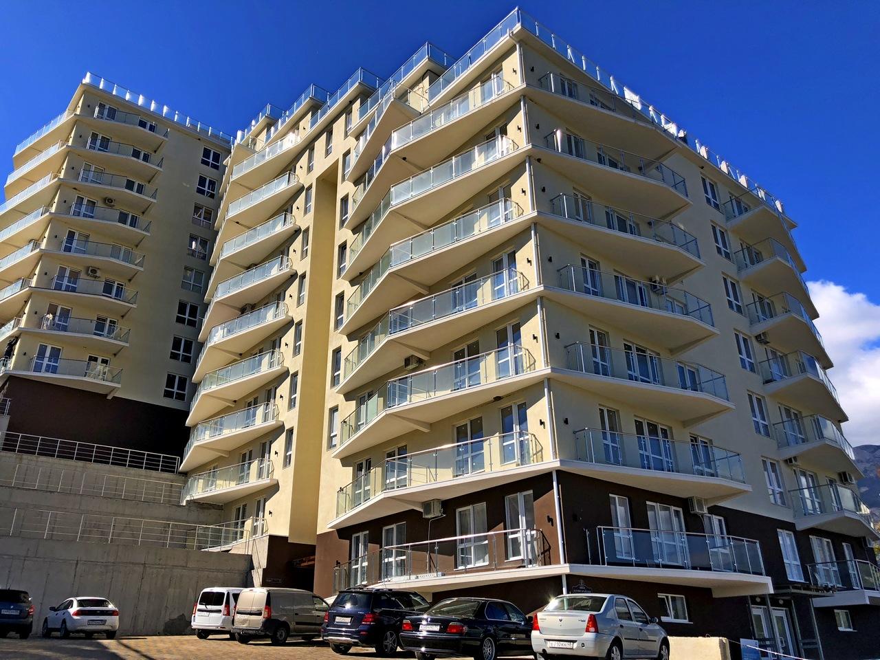 Горизонт Плаза новые квартиры в Ялте
